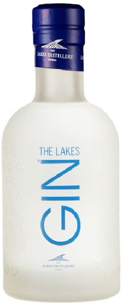 Bottle of lakes gin