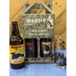 Gift Box 3 x 500ml Bottles and a glass